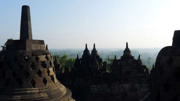 Borobudur, Indonesie 2014